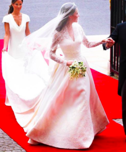 abiti da sposa Kate Middleton