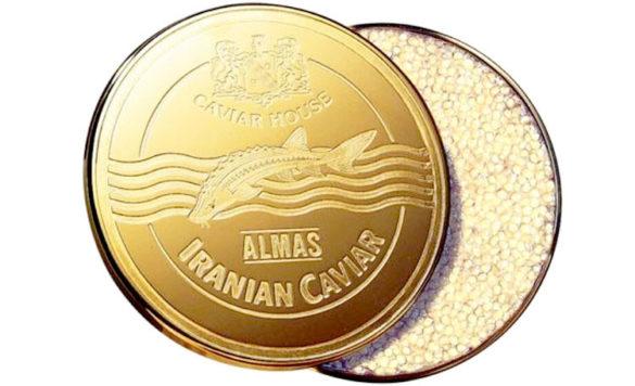 Almas Caviar il caviale più costoso del mondo