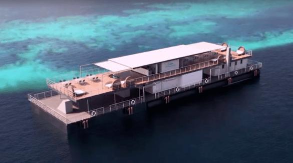 Hotel subacqueo in Australia